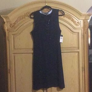 Chaps Dress Navy